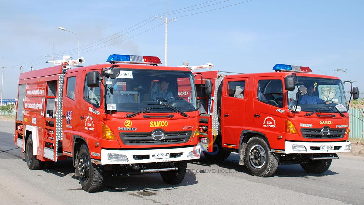 Cung cấp xe cứu hỏa