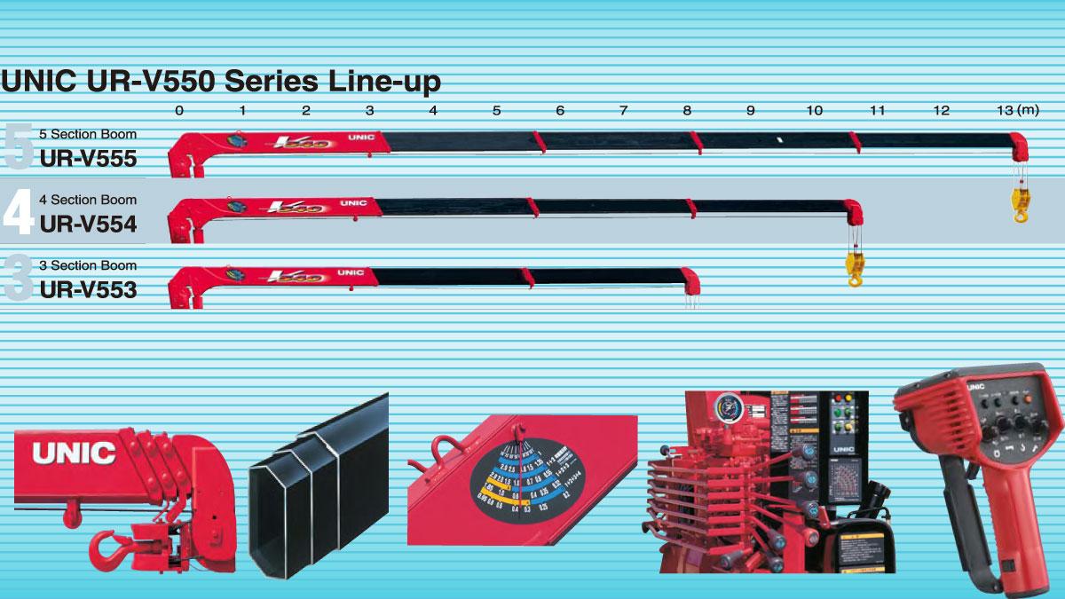 Cẩu UNIC 5T URV550