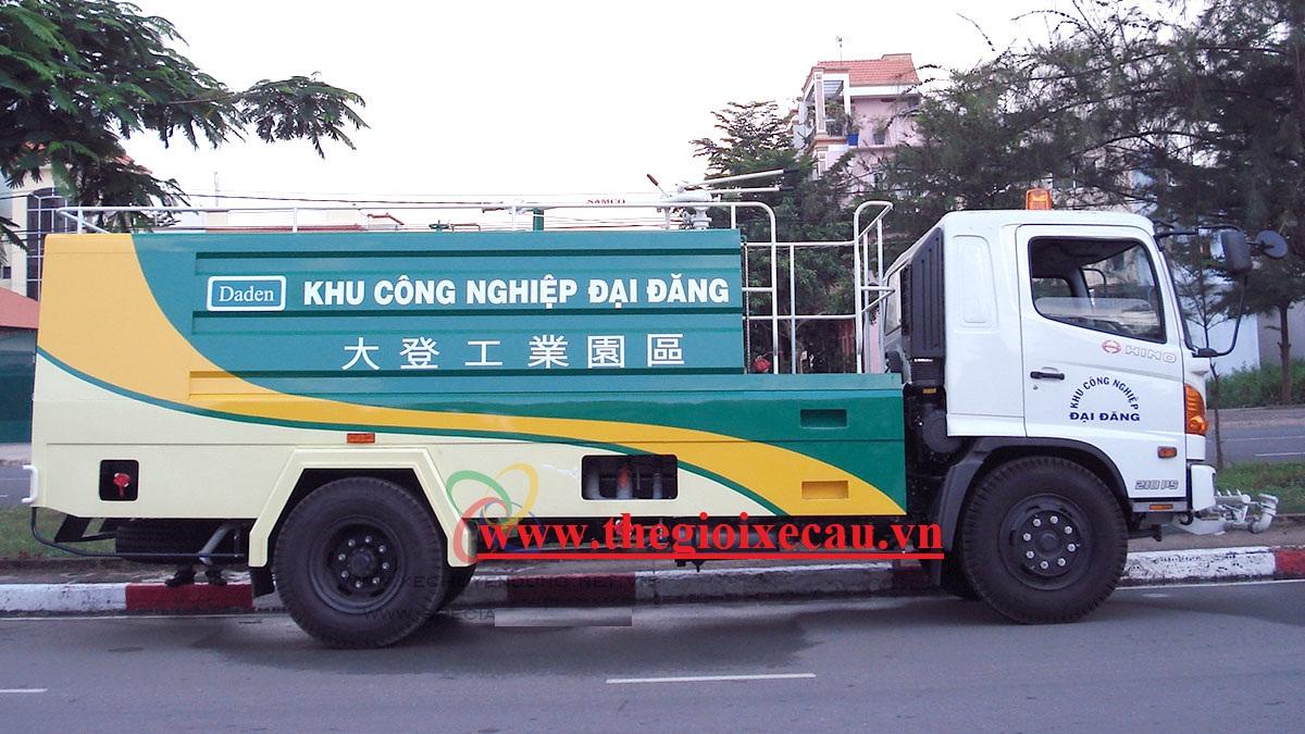 Xe rửa đường 5 khối Hino FG