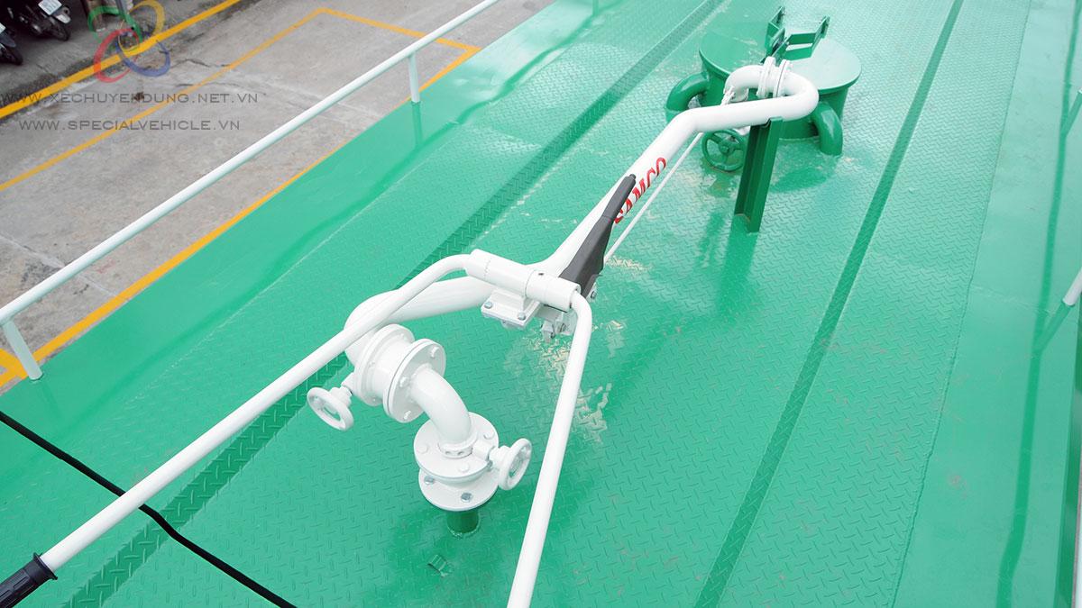 Xe rửa đường- tưới cây Hino 14 khối