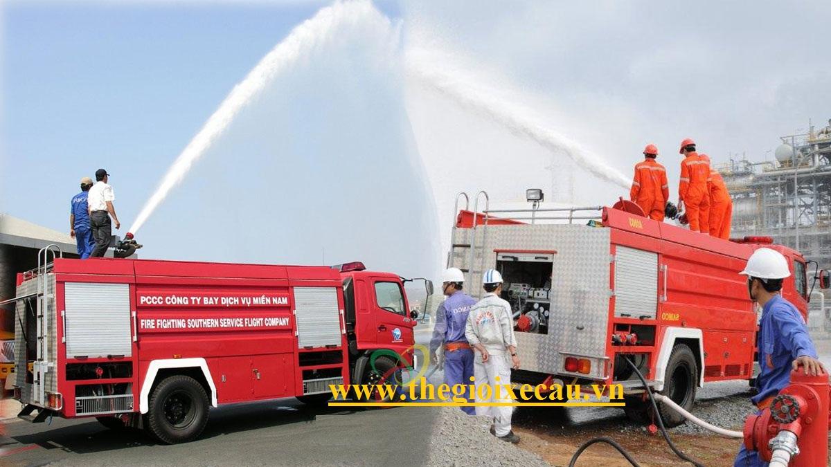 Xe cứu hỏa Hino FG8JJSB