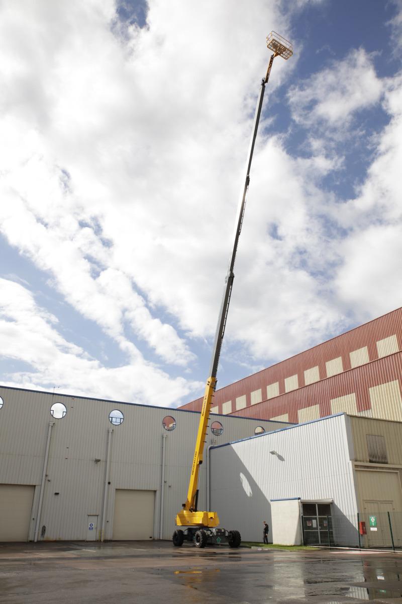 Bán xe nâng người boomlift Hautlotee 43m