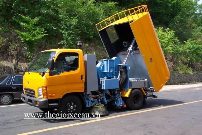 Bán xe quét 3 khối Hyundai