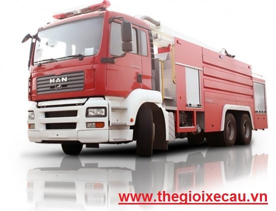 Xe cứu hỏa nhập khẩu