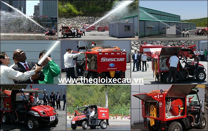 Ứng dụng xe chữa cháy mini