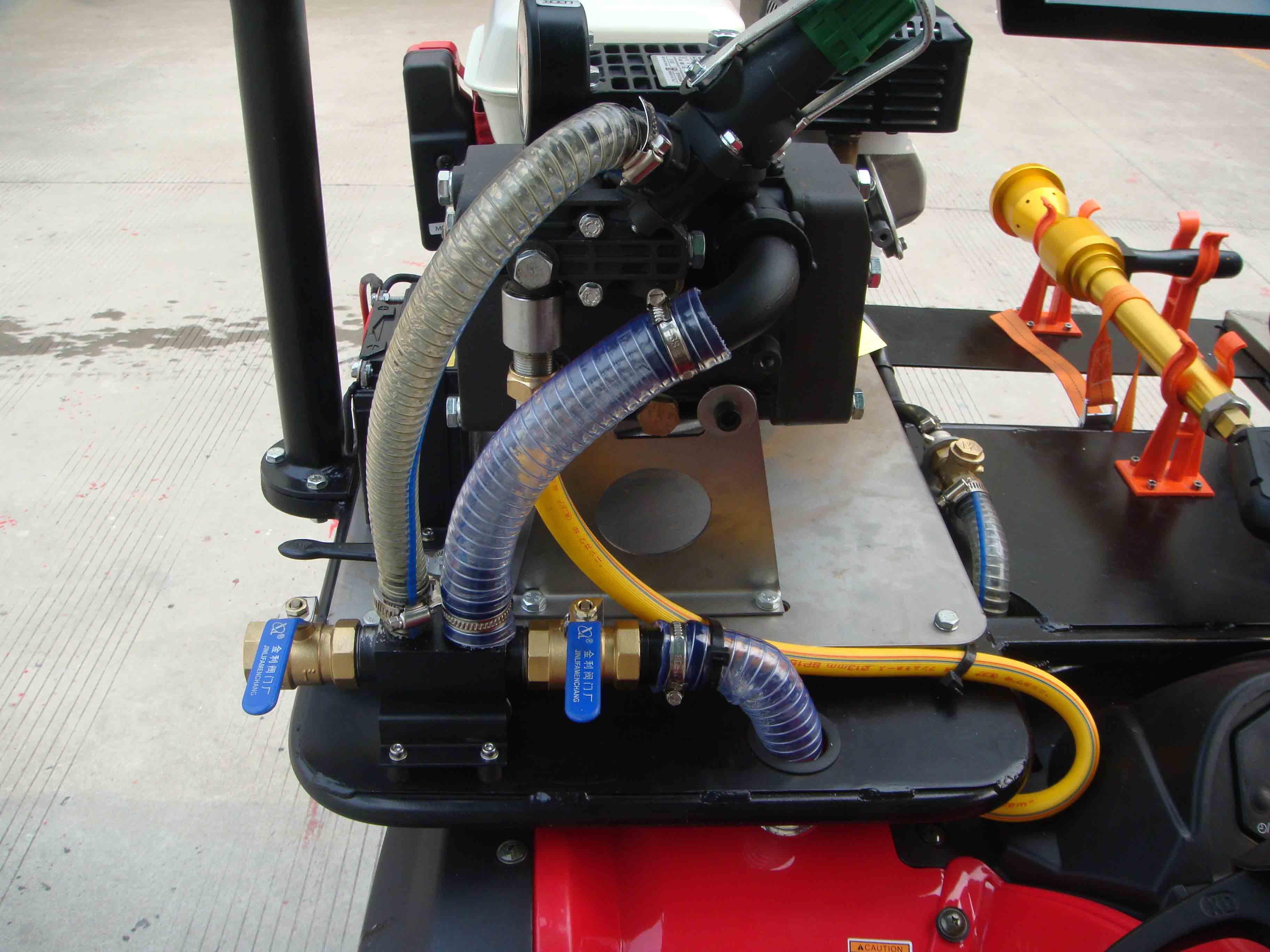 Xe chữa cháy mini- xe cứu hỏa mini