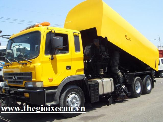 Bán xe quét đường 10 khối Hyundai nhập khẩu