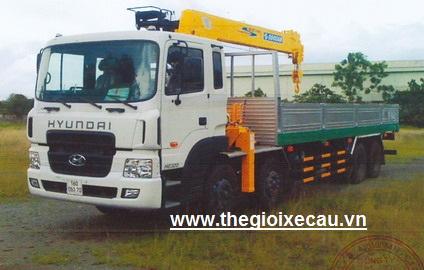 Xe cẩu tự hành Hyundai HD320- Soosan 7 tấn SCS746L