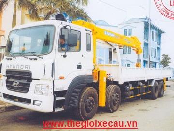 Xe cẩu tự hành 10 tấn HD320- Soosan SCS1015LS