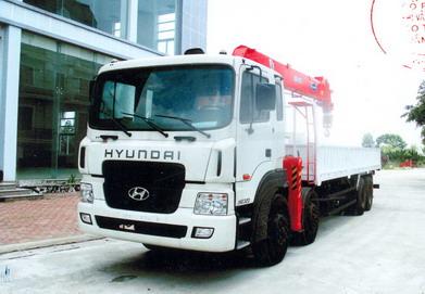 Hyundai HD320 gắn Ks2605 10 tấn