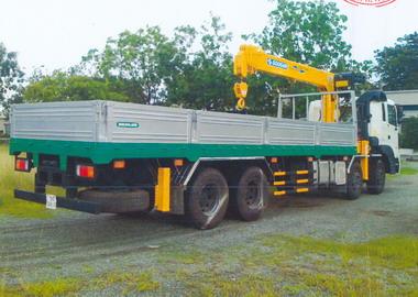 Xe cẩu tự hành 7 tấn Hyundai- Soosan