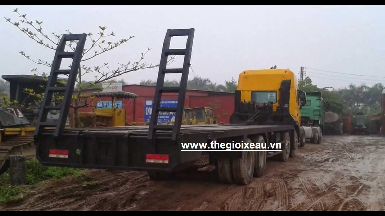 Xe nâng đầu chở máy công trình JAC 4 chân