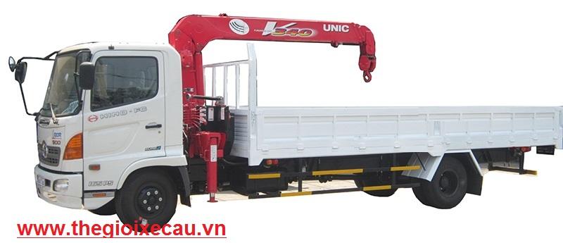 Hino FC9JLSW gắn Unic Urv344