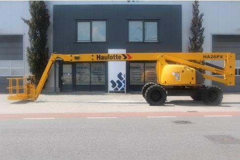 Xe nâng Haulotte cũ