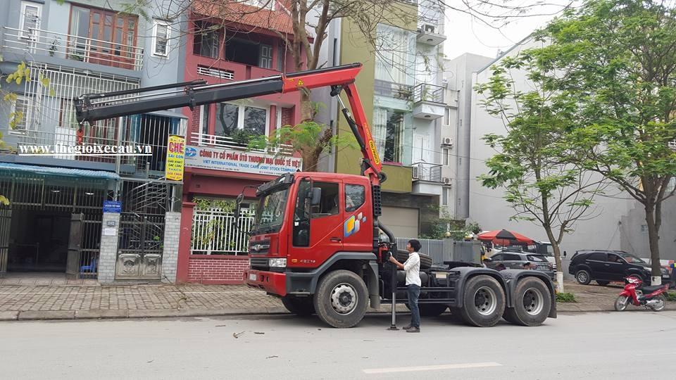 Bán cẩu Palfinger 5.7 tấn