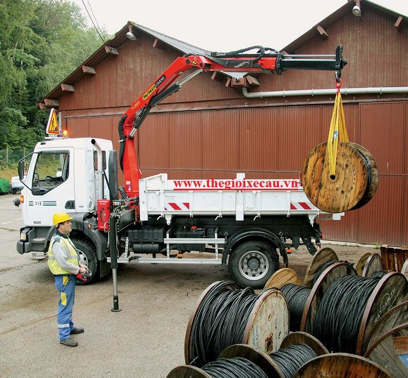 Cẩu Palfinger 3.2, 3.3 tấn