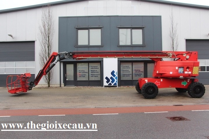Xe nang boom lift 28m Haulotte