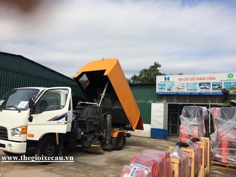 Minh Hải phân phối xe quét Hyundai