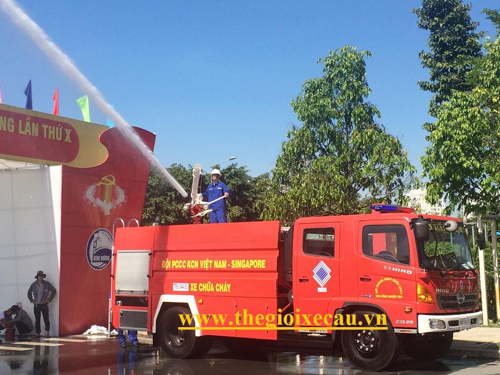 Cung cấp xe cứu hỏa Hino- Samco