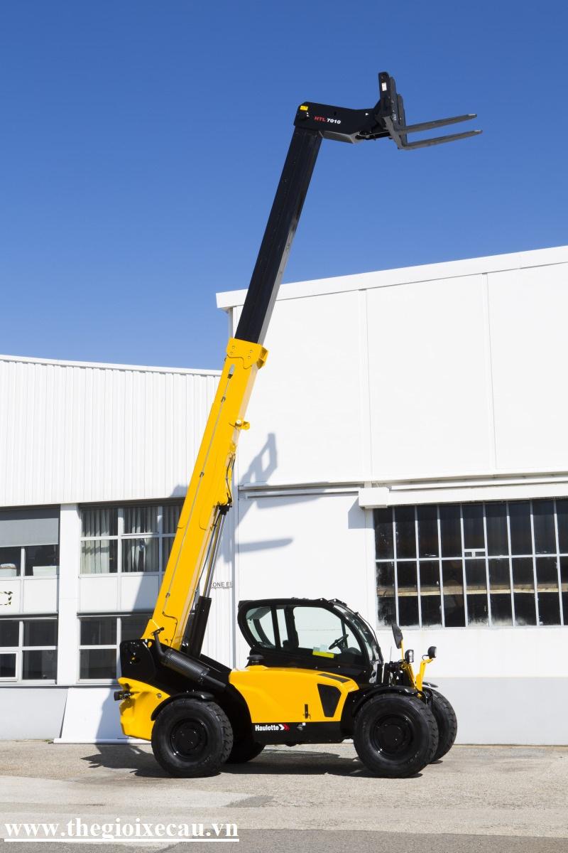 Bán xe nâng telehandler 7 tấn Haulotte