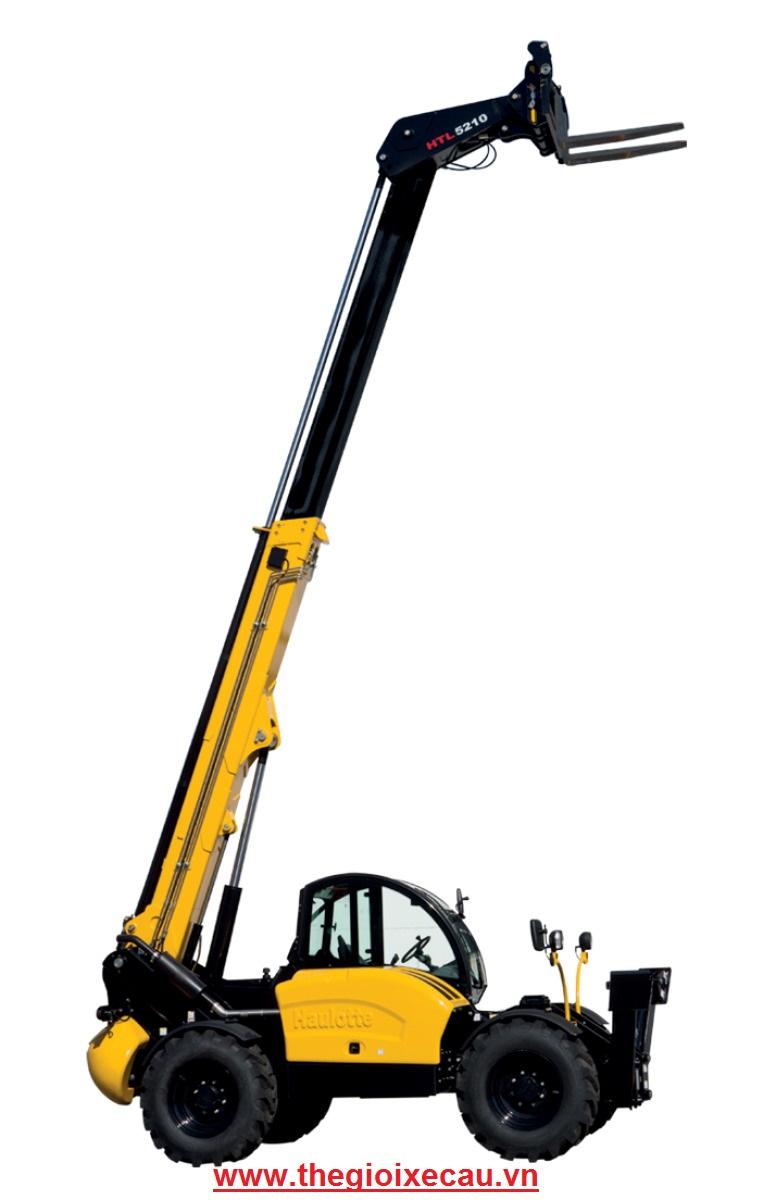 Xe nâng đa năng telehandler Haulotte 5 tấn- 01