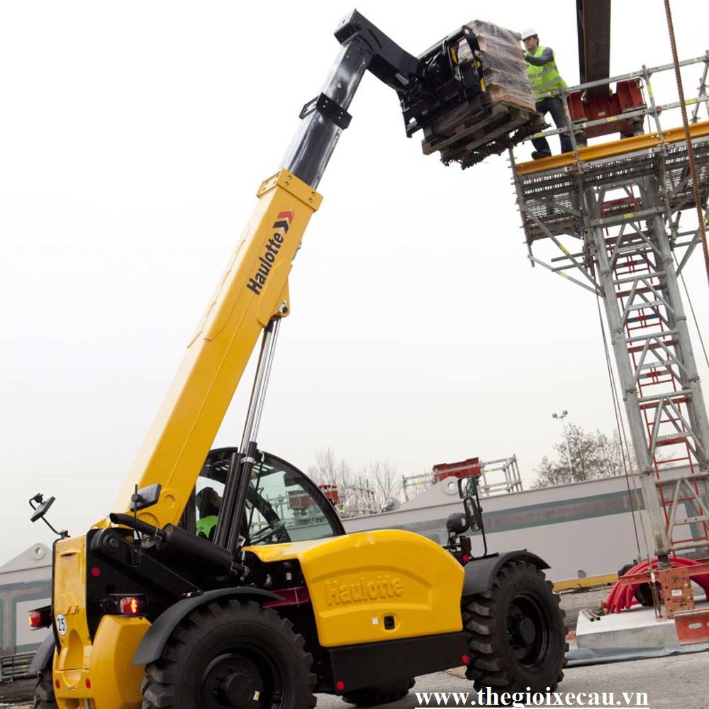 Bán xe nâng telehandler 3.5 tấn Haulotte