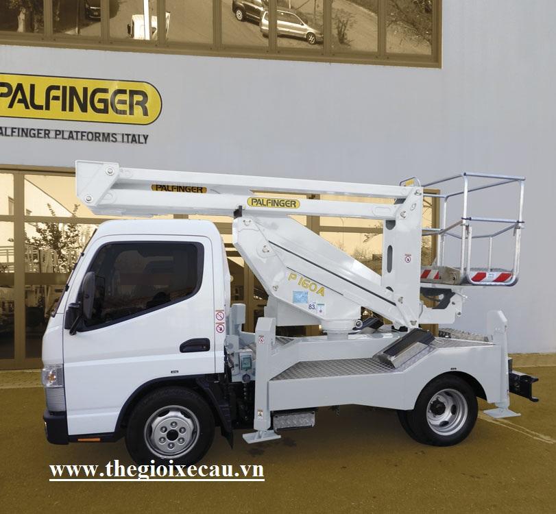 Xe ô tô nâng người 16m Palfinger- 01