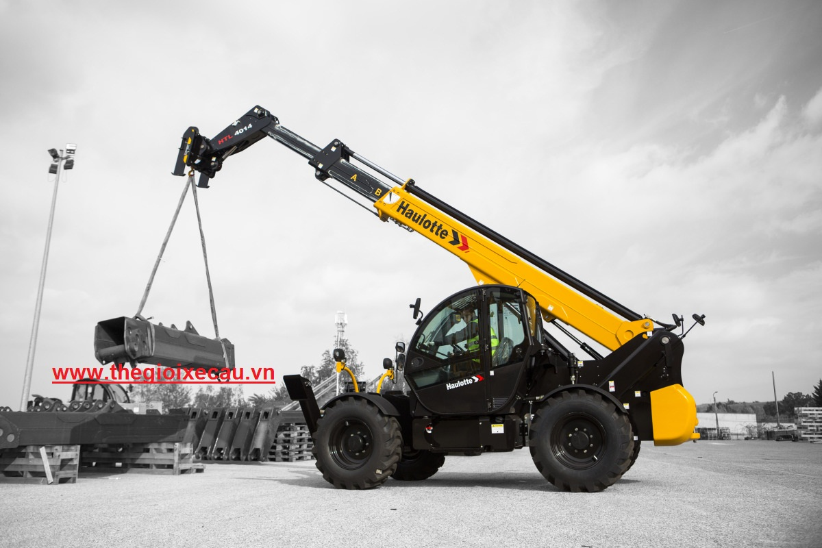 Bán xe nâng thay đổi tầm vươn telehandler 4 tấn, 10-17m