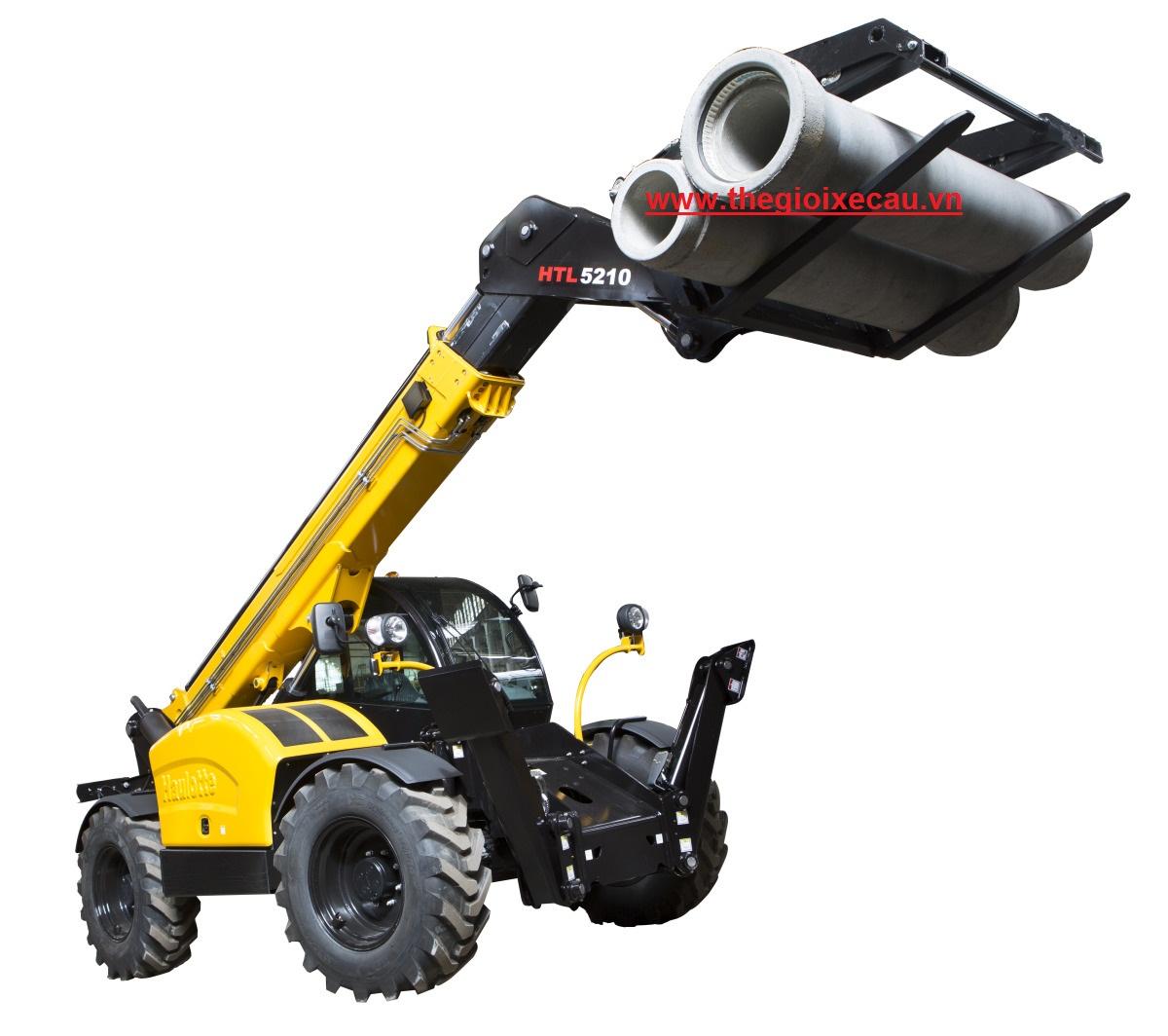 Bán xe nâng thay đổi tầm vươn 5 tấn Haulotte