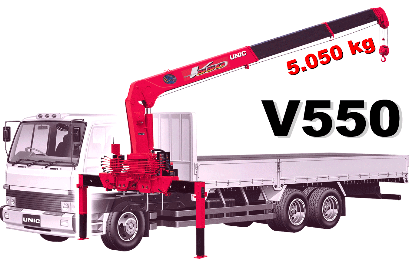 Bán cẩu Unic 5 tấn UR-V550
