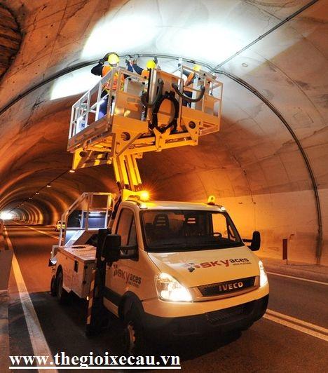 Bán xe kiểm tra bảo dưỡng đường hầm