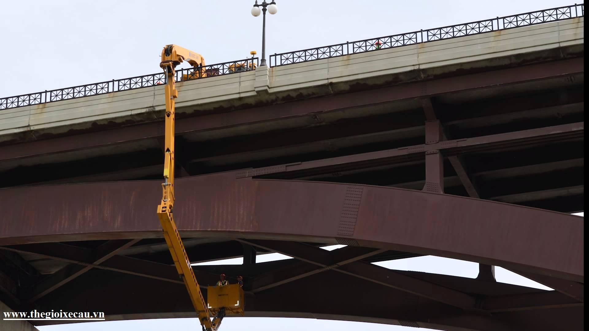 Xe kiểm tra cầu Palfinger