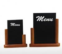 Bảng menu để bàn hai mặt Nova
