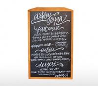 Bảng menu treo tường ALORA