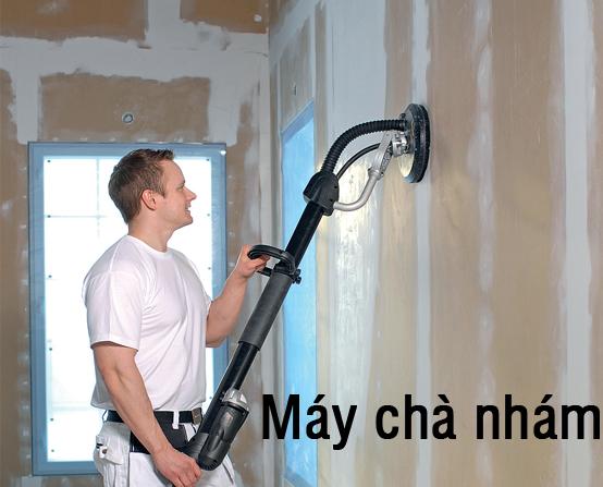 Máy xả bột trét tường không bụi