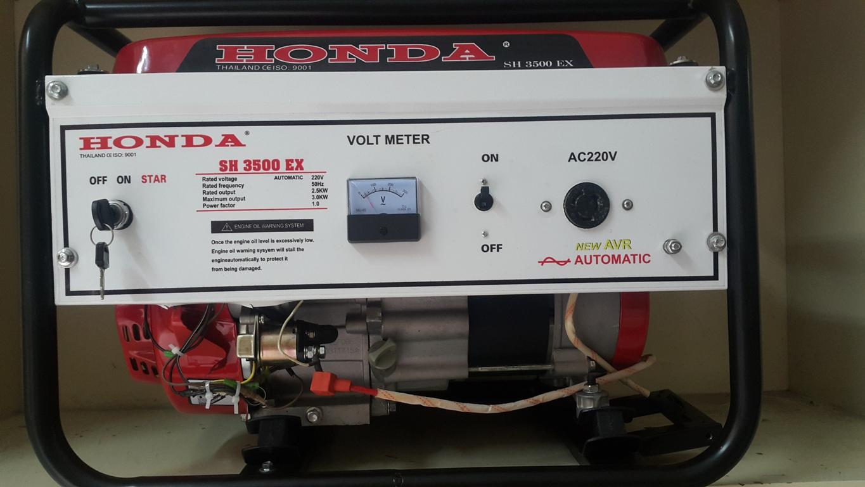 Bán máy phát điện chạy xăng công suất 3 KVA có bô giảm âm giá rẻ nhất