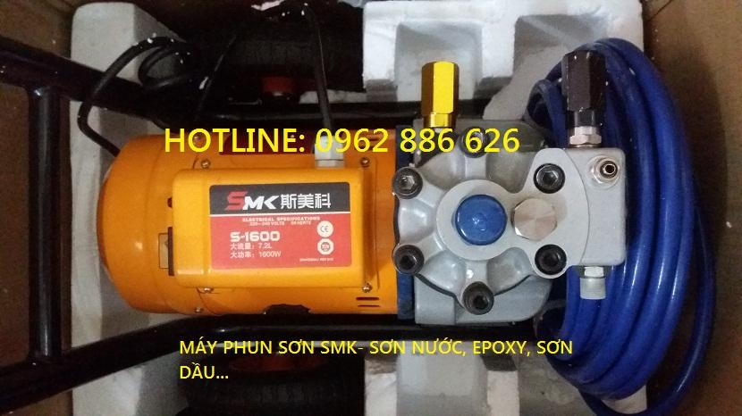 Máy phun sơn dầu SMK-S1600