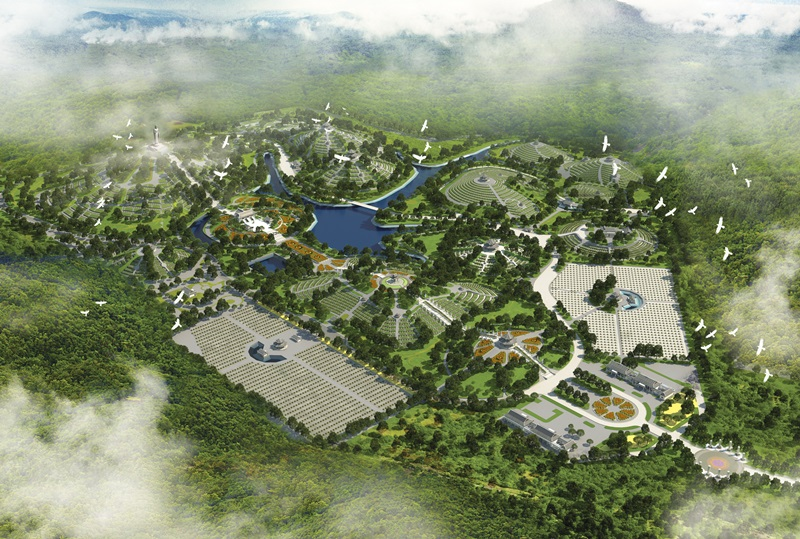 Đất nghĩa trang đẹp ở Hà Nội