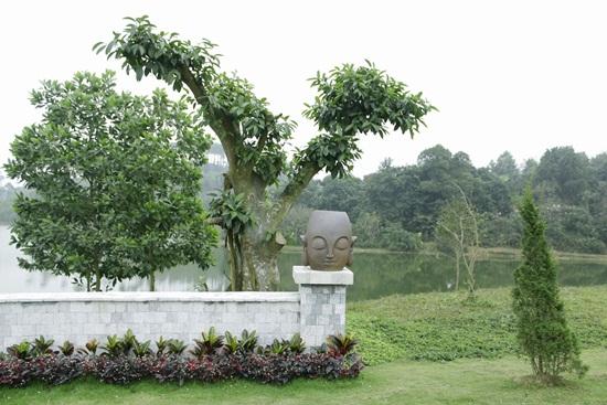 Triết lý phật giáo luôn hiện hữu trong công viên nghĩa trang
