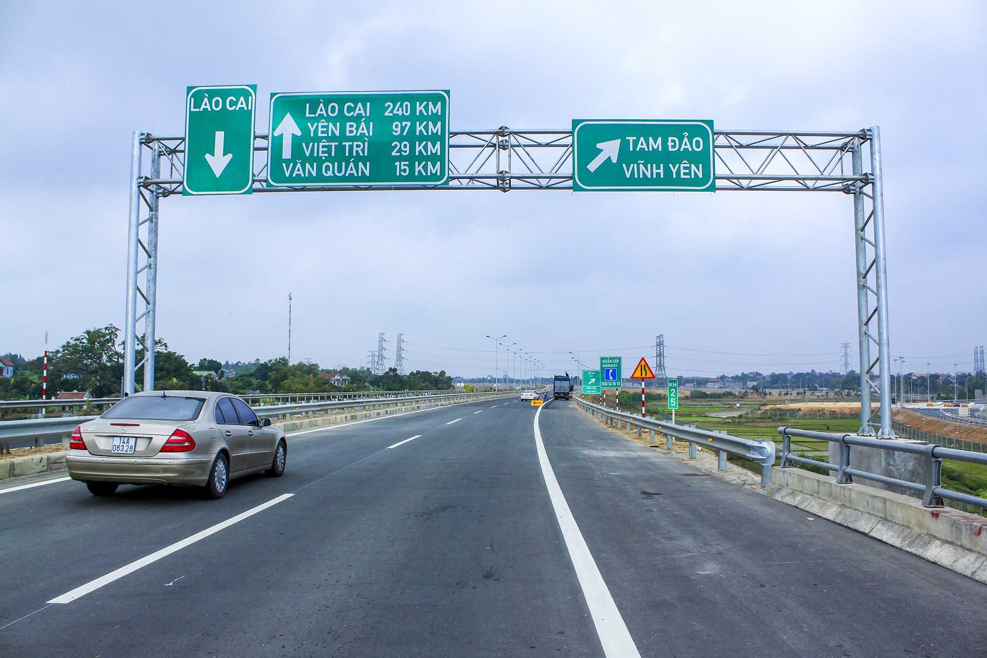 Đoạn đường Cao tốc rút ngắn quãng đường Hà Nội - Thiên Đức hơn 1 giờ đồng hồ