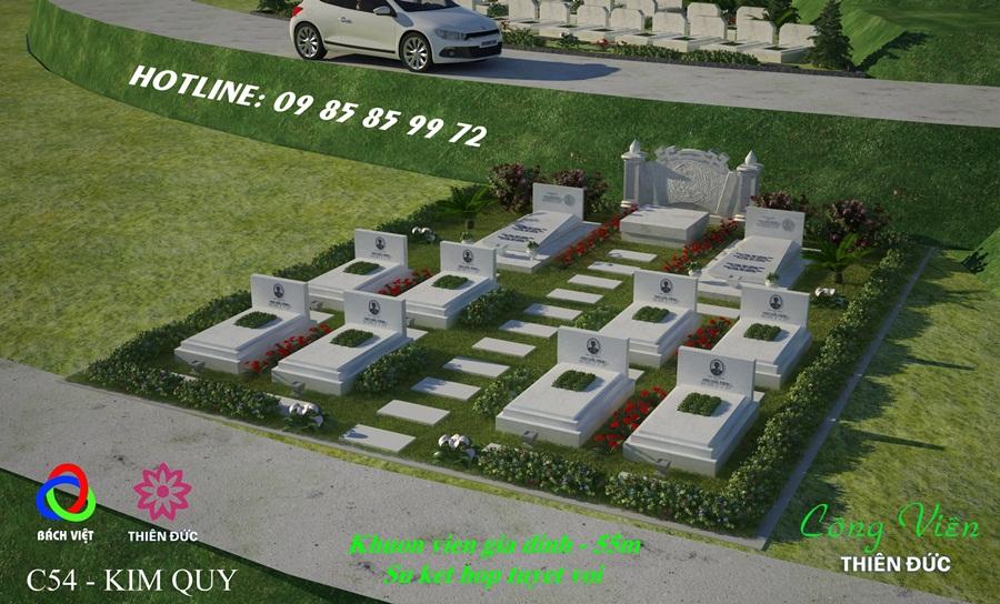 mẫu mộ nghĩa trang thiên đức