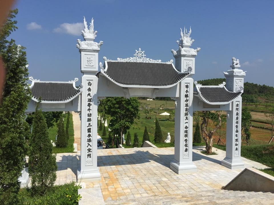 Cổng sau Tam Quan