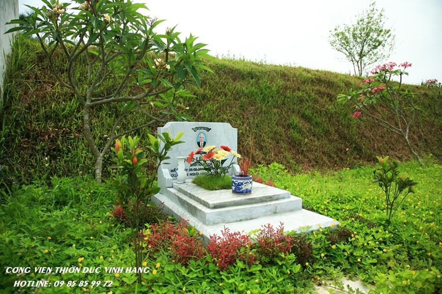 mộ ghép tại nghĩa trang thiên đức