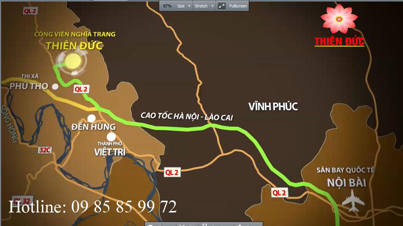 Bản đồ Lò Hỏa táng