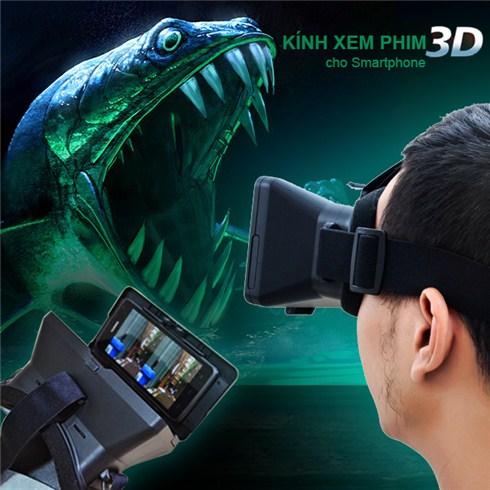 Với chiếc kính thực tế ảo xem phim, hình ảnh 3D cho điện thoại smartphone  mà Yêu công nghệgiới thiệu đến các bạn ngay sau đây, thì điều tưởng chừng  phi lý ...