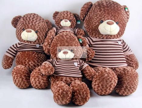 Gấu bông to bằng người ngoại nhập