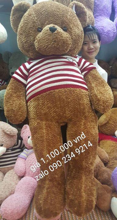Gấu bông to bằng người giá rẻ