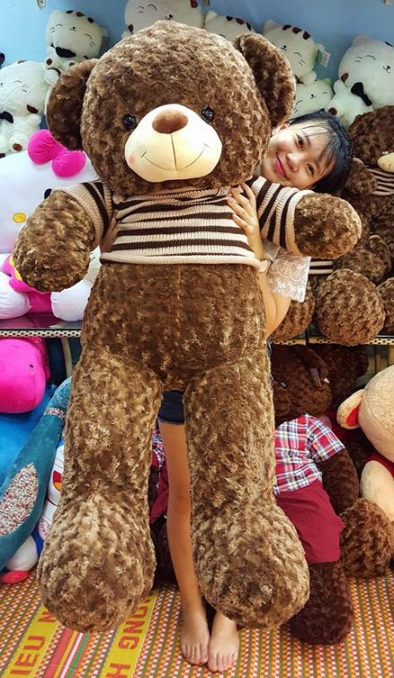 Gấu teddy Choco ngoại nhập cao cấp 02