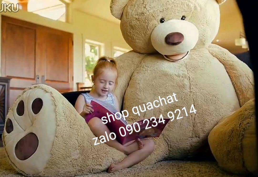 Gấu bông khổng lồ to nhất 00