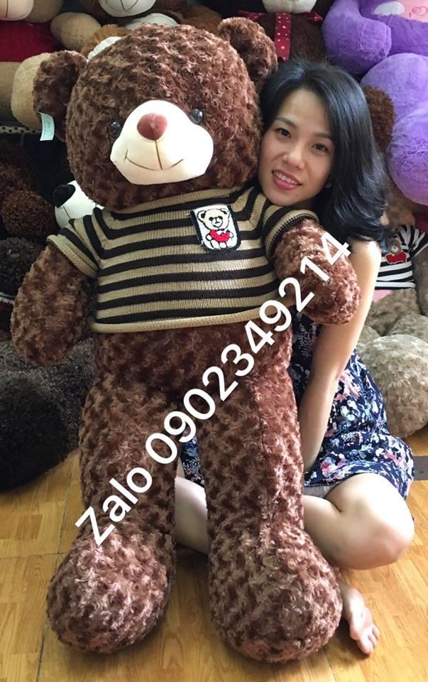 Gấu bông teddy cỡ lớn 1m5 01